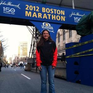 meg at 2012 boston marathon